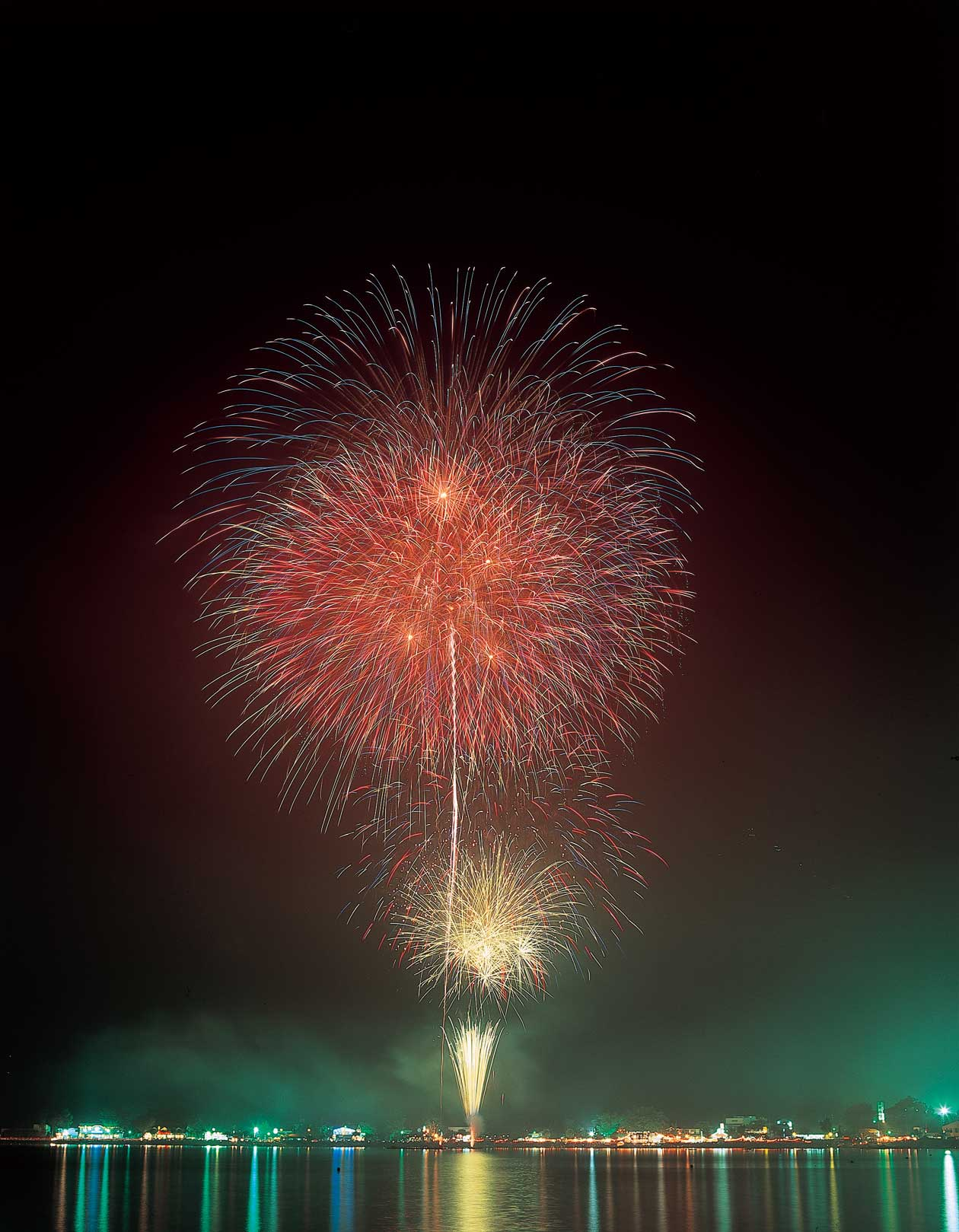 富士五湖の花火大会