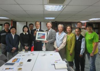 「中華民国山岳協会創立90周年祝賀表敬訪問」(2015年12月)